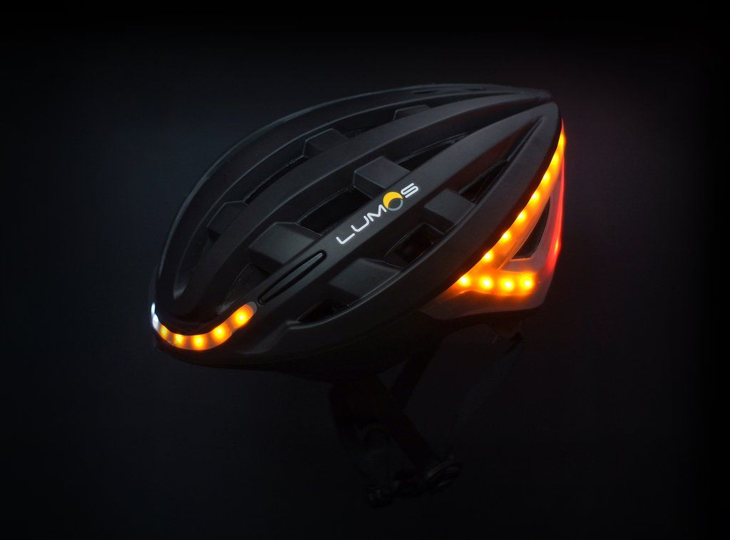 Lumos Bicycle Helmet with Headlight