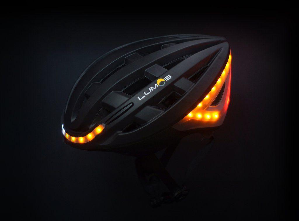 Lumos Bicycle Helmet with Headlight