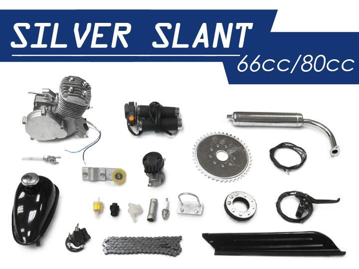 silver slant 66cc 80cc