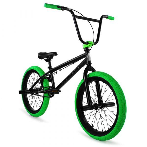 Elite BMX Stealth 20″ BMX Bike – Black Green