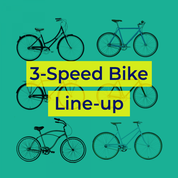 3 Speed Bikes