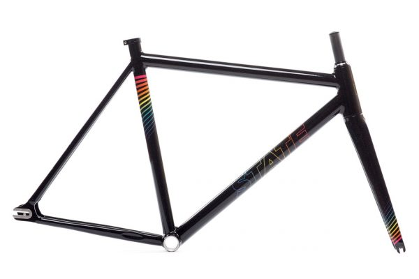 state bicycle co undefeated frame set black prism 1