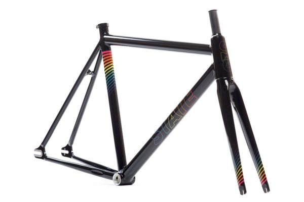 state bicycle co undefeated frame set black prism 2