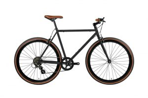 fyxation 7 speed black and tan